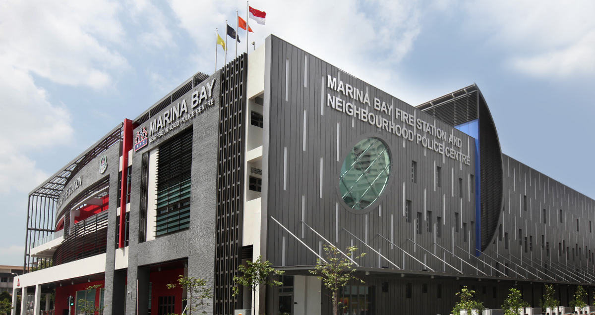 Marina Bay Fire Station & Neighborhood Police Centre